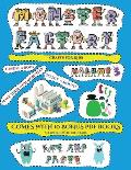 Crafts for Kids (Cut and paste Monster Factory - Volume 3): This book comes with collection of downloadable PDF books that will help your child make a