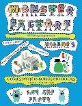 Cut and Glue Activities (Cut and paste Monster Factory - Volume 3): This book comes with collection of downloadable PDF books that will help your chil