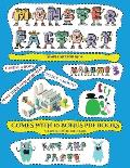 Simple Art for Kids (Cut and paste Monster Factory - Volume 3): This book comes with collection of downloadable PDF books that will help your child ma