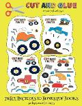 Art and Craft with Paper (Cut and Glue - Monster Trucks): This book comes with collection of downloadable PDF books that will help your child make an