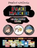 Preschool Workbooks (Face Maker - Cut and Paste): This book comes with a collection of downloadable PDF books that will help your child make an excell