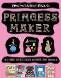 Preschool Scissor Practice (Princess Maker - Cut and Paste): This book comes with a collection of downloadable PDF books that will help your child mak