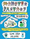 Preschool Workbooks (Cut and paste Monster Factory - Volume 3): This book comes with collection of downloadable PDF books that will help your child ma