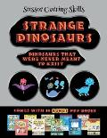 Scissor Cutting Skills (Strange Dinosaurs - Cut and Paste): This book comes with a collection of downloadable PDF books that will help your child make