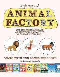 Simple Paper Craft (Animal Factory - Cut and Paste): This book comes with a collection of downloadable PDF books that will help your child make an exc