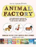 Fun Art Activities for Kids (Animal Factory - Cut and Paste): This book comes with a collection of downloadable PDF books that will help your child ma