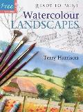 Watercolour Landscapes With Six Reusable Tracings
