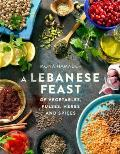 Lebanese Feast of Vegetables Pulses Herbs & Spices