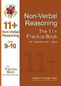 11+ Non-verbal Reasoning Practice Book With Assessment Tests (Ages 9-10)