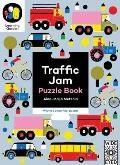 Traffic Jam Puzzle Book With a 6 Piece Floor Puzzle