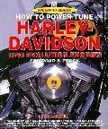 How To Power Tune Harley Davidson 1340 E