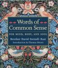 Words of Common Sense for Mind Body & Soul