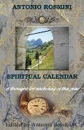 Spiritual Calendar: The Writings of Blessed Antonio Rosmini