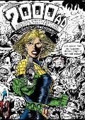 The 2000AD Action Heroines Colouring Book