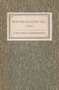 Poetry Against All: A Diary