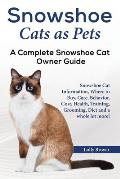 Snowshoe Cats as Pets: Snowshoe Cat Information, Where to Buy, Care, Behavior, Cost, Health, Training, Grooming, Diet and a whole lot more! A