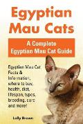 Egyptian Mau Cats: Egyptian Mau Cat Facts & Information, where to buy, health, diet, lifespan, types, breeding, care and more! A Complete