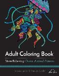 Adult Coloring Book: Ocean Animal Patterns