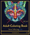 Stress Relieving Cats: Adult Coloring Book, Celebration Edition