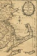 A new and accurate map of the colony of Massachusets [i.e. Massachusetts] Bay, in North America, from a late survey: A Poetose Notebook / Journal / Di