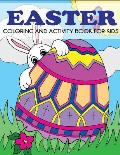 Easter Coloring and Activity Book for Kids