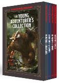 Young Adventurers Collection Dungeons & Dragons 4 Book Boxed Set Monsters & Creatures Warriors & Weapons Dungeons & Tombs & Wizards & Spells