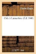 Ode ? Lamartine