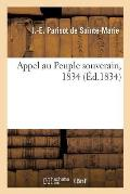 Appel Au Peuple Souverain, 1834
