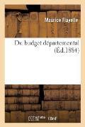 Du Budget D?partemental