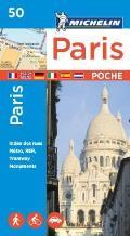 Michelin Paris Pocket Map 50 Plan Poche