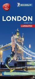 Michelin London City Map Laminated