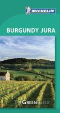 Michelin Green Guide Burgundy Jura