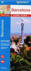 Michelin Barcelona Map No 41