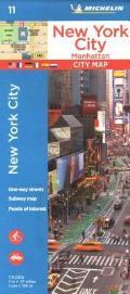 Michelin New York City Manhattan Map 11