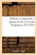 Tableaux composant la galerie de M. le Comte d'Espagnac