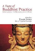 A Taste of Buddhist Practice: Approaching Its Meaning and Ways