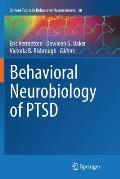 Behavioral Neurobiology of Ptsd