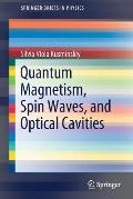 Quantum Magnetism, Spin Waves, and Optical Cavities