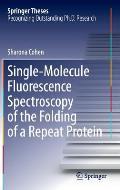 Single-Molecule Fluorescence Spectroscopy of the Folding of a Repeat Protein
