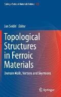 Topological Structures in Ferroic Materials: Domain Walls, Vortices and Skyrmions