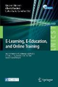 E-Learning, E-Education, and Online Training: Second International Conference, Eleot 2015, Novedrate, Italy, September 16-18, 2015, Revised Selected P