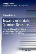 Towards Solid-State Quantum Repeaters: Ultrafast, Coherent Optical Control and Spin-Photon Entanglement in Charged Inas Quantum Dots