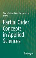Partial Order Concepts in Applied Sciences
