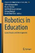 Robotics in Education: Latest Results and Developments