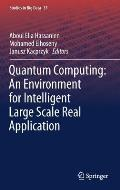 Quantum Computing: An Environment for Intelligent Large Scale Real Application