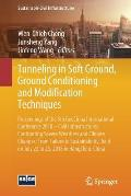 Tunneling in Soft Ground, Ground Conditioning and Modification Techniques: Proceedings of the 5th Geochina International Conference 2018 - Civil Infra