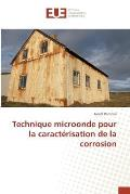 Technique Microonde Pour La Caract?risation de la Corrosion