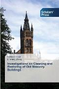 Investigations on Cleaning and Restoring of Old Masonry Buildings