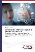 Sistemas de Informacion Para La Gestion Empresarial