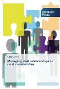 Managing Dual Relationships in Rural Communities